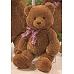 Monday to Sunday 泰迪熊 - 熊bear bear - 粉玫瑰 - 心型玫瑰盒花 - 玫瑰盒花