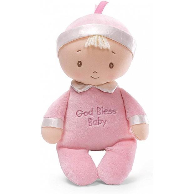初生BB嬰兒送禮禮物 – 正版Baby Gund GOD Bless Baby 布公仔