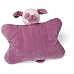Newborn Baby 禮物 - Baby Gund La Collection be'be'系列 的超柔軟紫紅色  覆盆子甜心小狗安撫抱枕