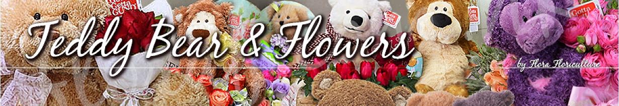 泰迪熊 公仔加花