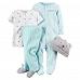 嬰兒禮物香港 – 美國名牌Carter's 4件純棉套裝