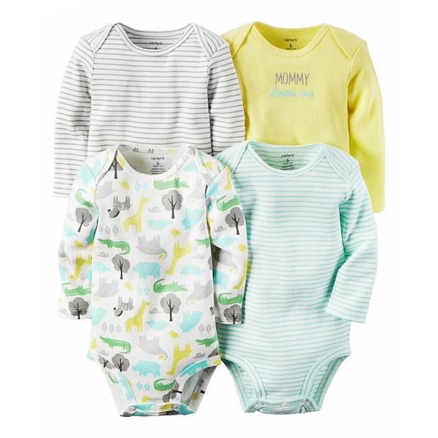 給BB最優質呵護的美國知名品牌Carter's – 4件純棉嬰兒套裝
