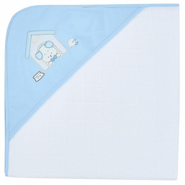 初生BB嬰兒送禮 – Mayoral 十分柔軟及厚身純棉連帽包被毛巾