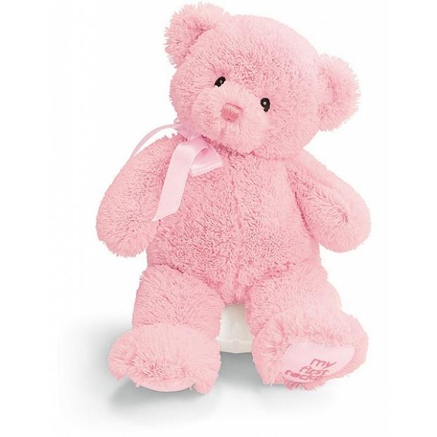 安全嬰兒玩具 - BB嬰兒禮品 - Baby Gund 我的第一 粉色10吋泰迪熊 - 21028
