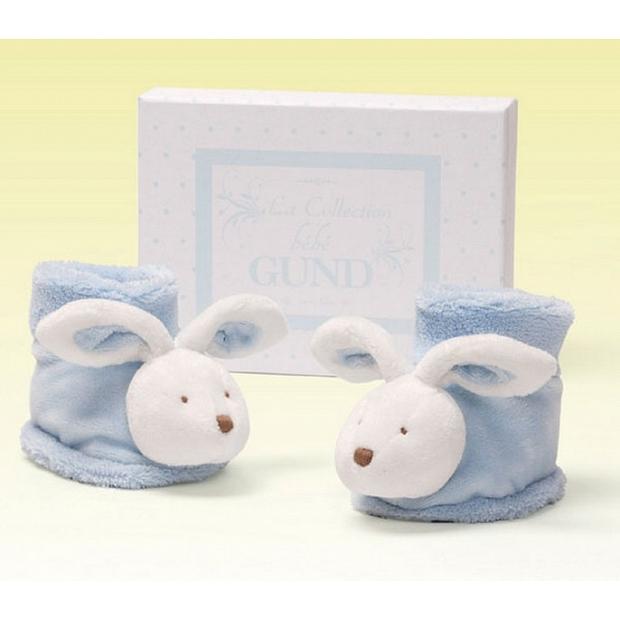 bb嬰兒禮品香港 Baby Gund 充滿著巴黎氣息的小兔鞋