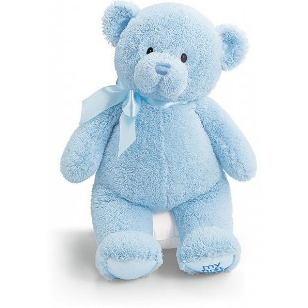 Baby Gund 藍色我的第一 泰迪熊 18吋 21035