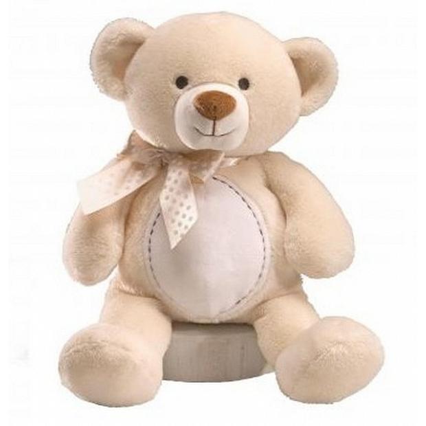 Baby Gund 音樂蜜糖罐熊 12吋 米色