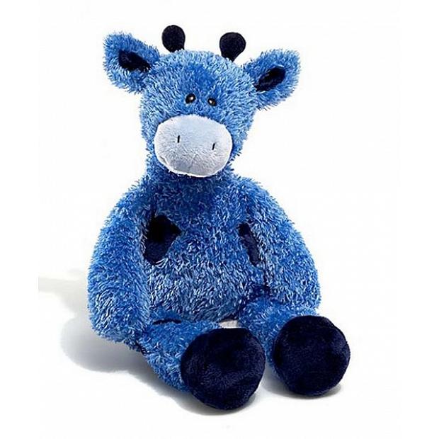 Gund 顏色突出的藍色長頸鹿毛公仔