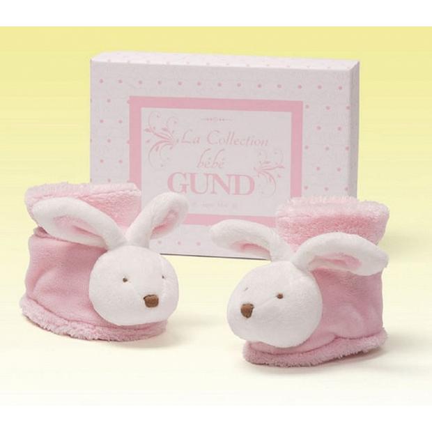 Baby Gund 充滿著巴黎氣息的小兔鞋 bb嬰兒鞋禮物