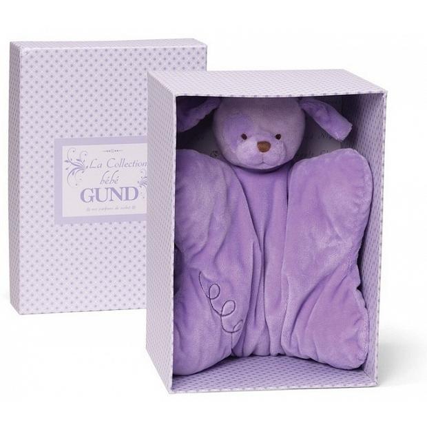 送禮bb Baby Gund  La Collection be'be'系列的超柔軟紫色  葡萄甜心小狗安撫抱枕