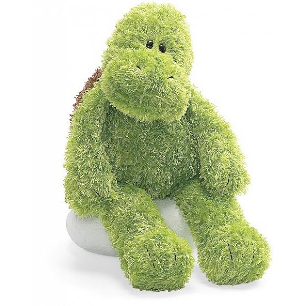 Gund 燦爛微笑的綠色小龜