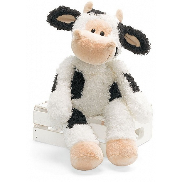Gund 可愛的黑白色牛牛