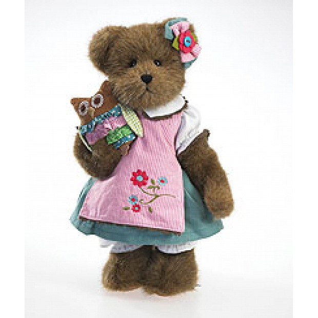 """ADD-BE95   Chelsea McHootin with Owlivia Boyds Plush 12"""""""