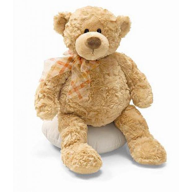 Gund Manni Teddy Bear 香港泰迪熊仔毛公仔