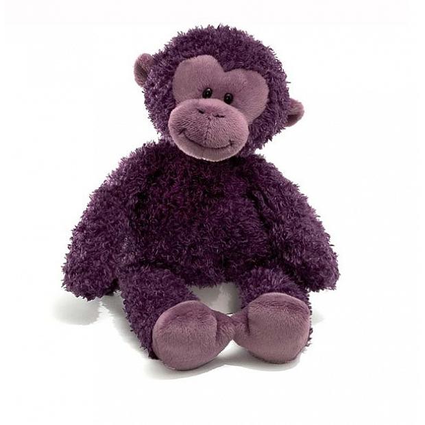 Gund 紫色馬騮毛公仔320043 泰迪熊仔花店香港