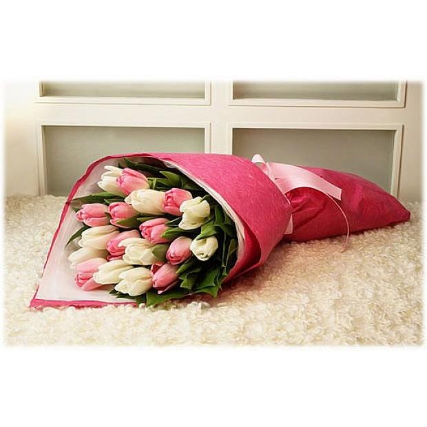 荷蘭屈金香花束 99枝屈金香花束 金香花束荷蘭鬱金香花束