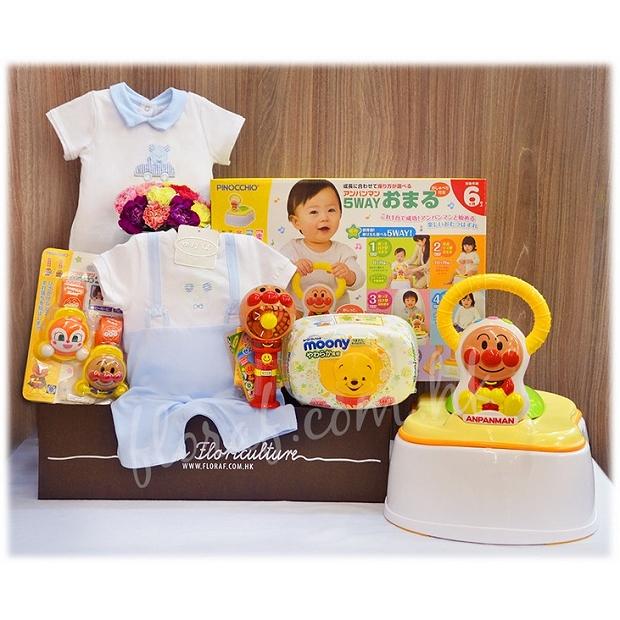 日本麵包超人 嬰兒禮物  BB嬰兒禮物  BB禮物 嬰兒滿月禮物 百日宴禮物